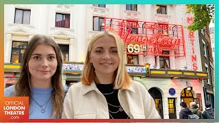 We headed to the West End for dinner and The Mousetrap   #BackOnStage Vlog