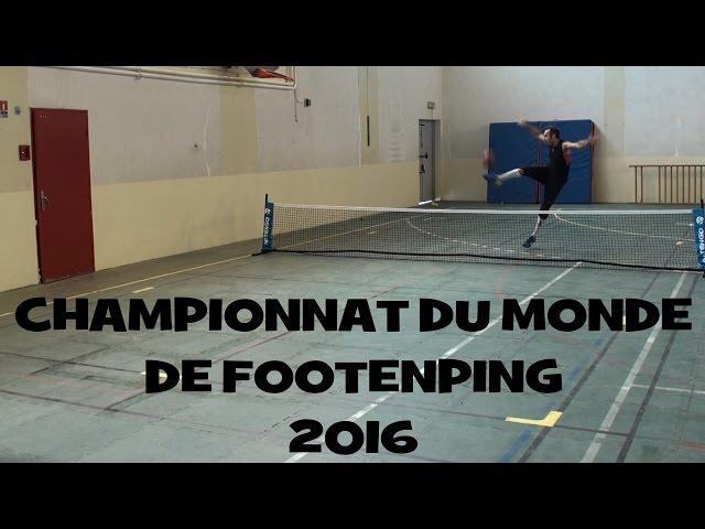Championnat du Monde de FooTenPing 2016