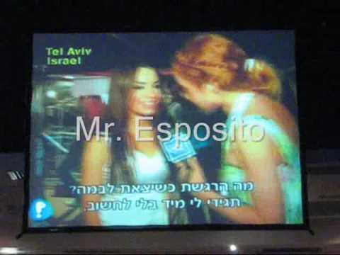 Eugenia Y Pablo En Israel - Pelephone