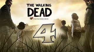 The Walking Dead Let's Play! по-русски #4 - Случай в отеле