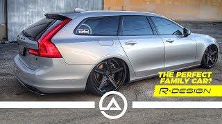 Slammed Volvo V90R | The Perfect Family Car?
