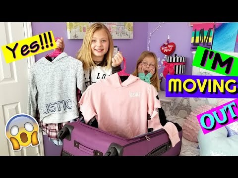 Francesca Is Moving OUT NEW Bedroom Tour Surprise