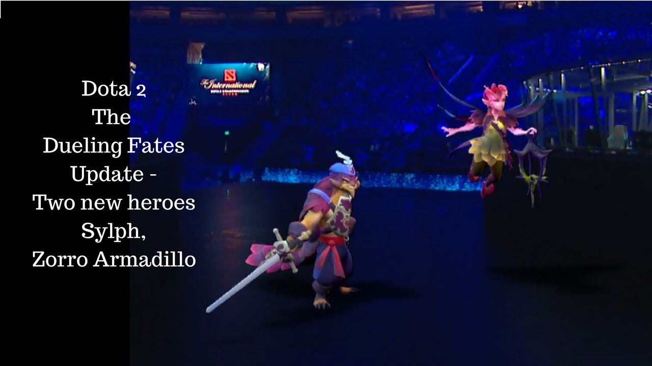 dota 2 two new heroes the dueling fates update sylph and