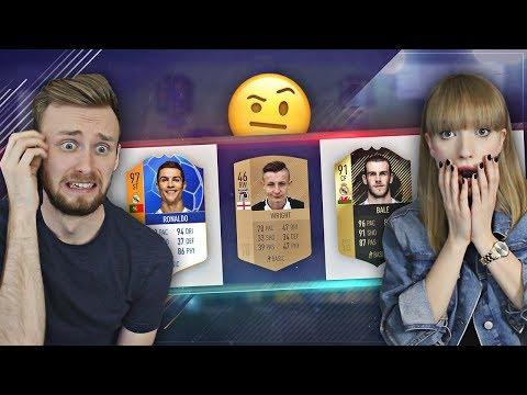 CO TU SIĘ.. WSPÓLNY DRAFT Z DZIEWCZYNĄ FIFA 18!