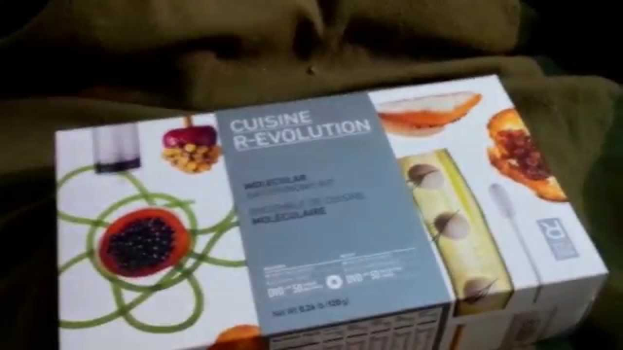 Unboxing a Molecule-R CUISINE R-EVOLUTION Molecular Gastronomy Kit ...