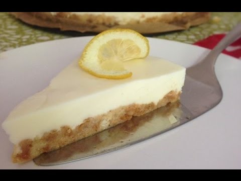 ZitronenJoghurtTorte  Passend zum Sommer  Kuchen ohne Backen Rezept  YouTube