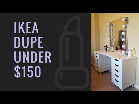 IKEA Dupe Vanity Under $150! MUST SEE!