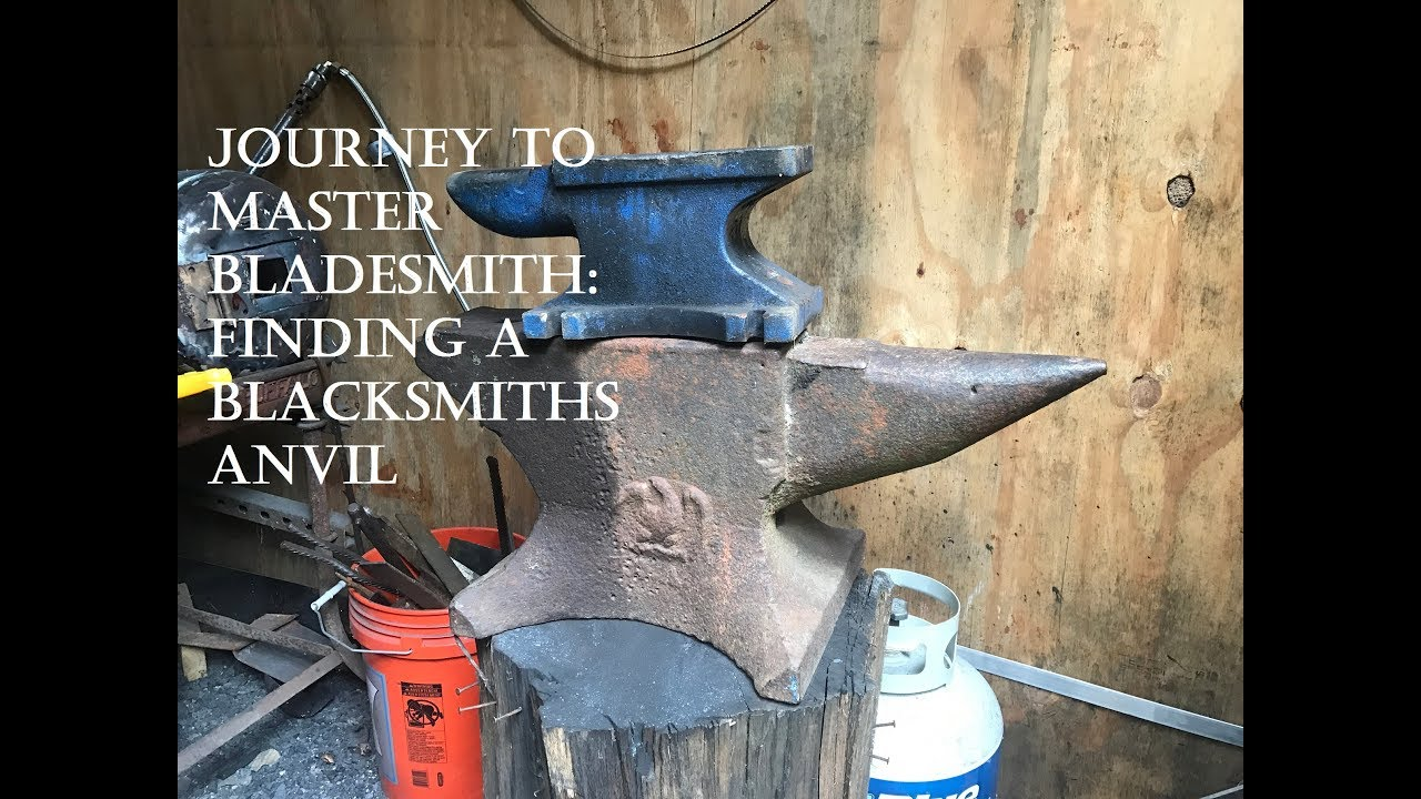 How I found a Blacksmiths Anvil