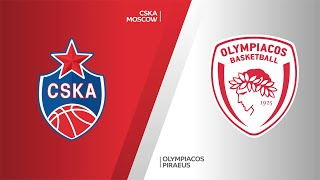 CSKA Moscow - Olympiacos Piraeus Highlights | Turkish Airlines EuroLeague, RS Round 12