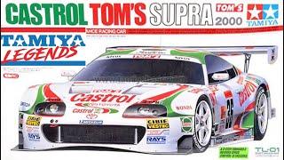 Tamiya Toyota Toms Castrol Sup…