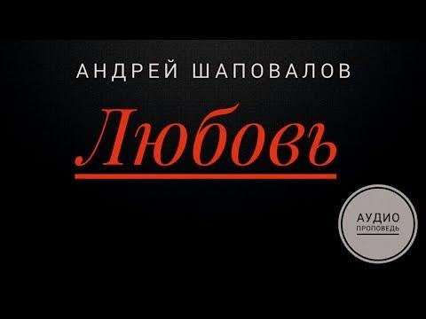 Пастор Андрей Шаповалов  - ЛЮБОВЬ -  (Аудио проповедь)