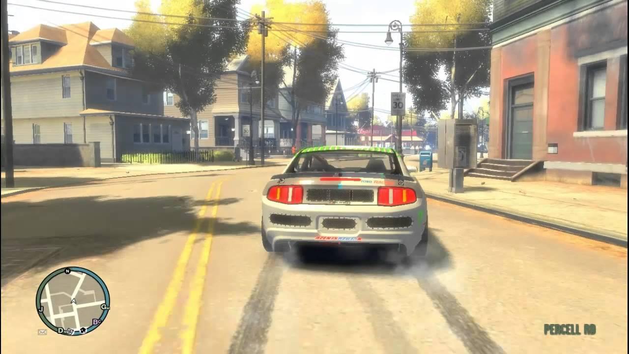 Ford Mustang Monster Energy Drift Car Gta Game Play Youtube