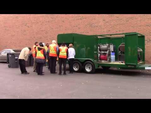 Clean & sanitize up to 400 filthy wheelie bins & trash carts per day hydrochemsystems.com