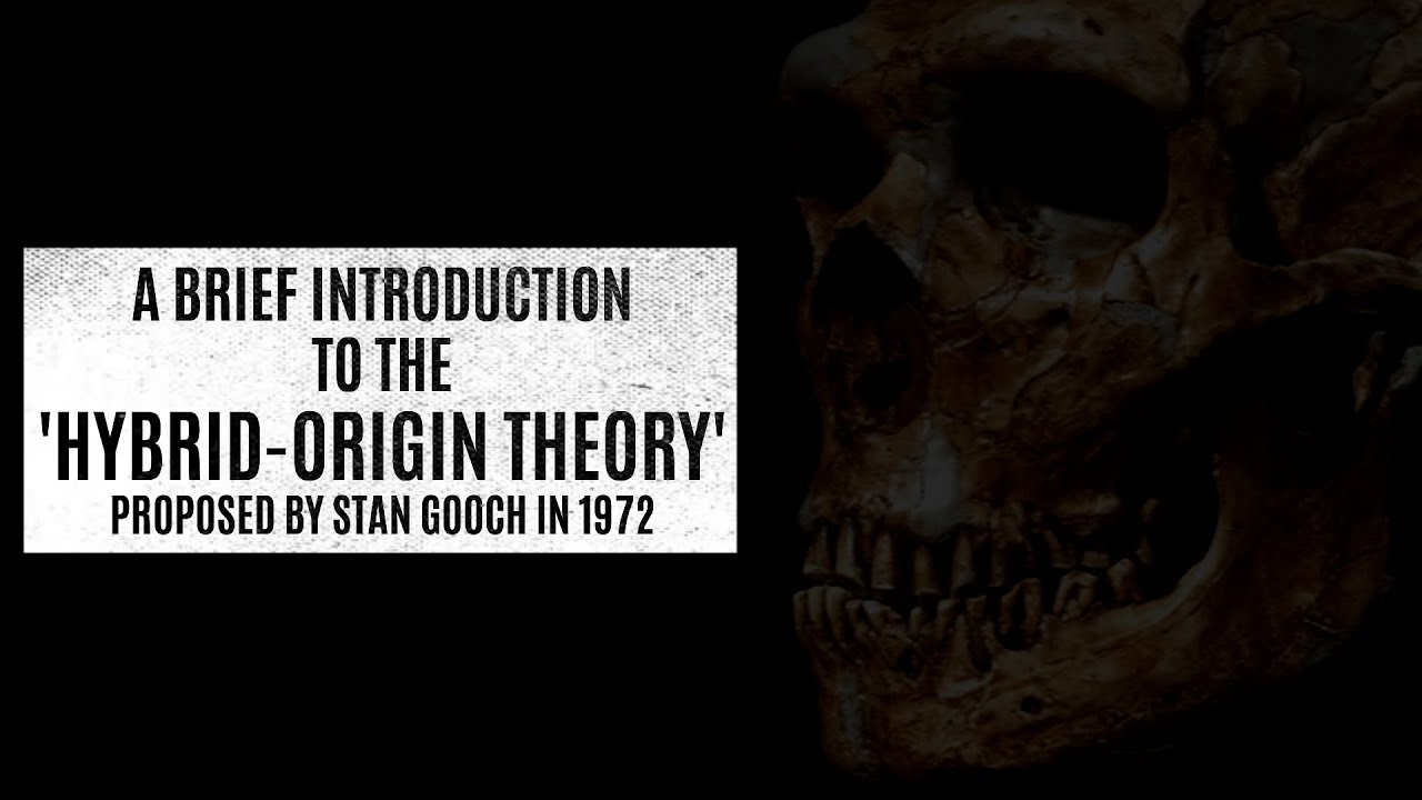 A brief introduction to Stan Gooch's 'Hybrid-Origin' theory.