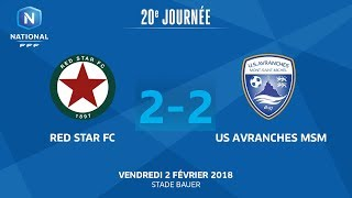 Red Star vs Avranches full match
