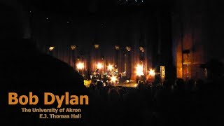 "Bob Dylan performs ""Highway 61 Revisited"" at The University Of Akro..."