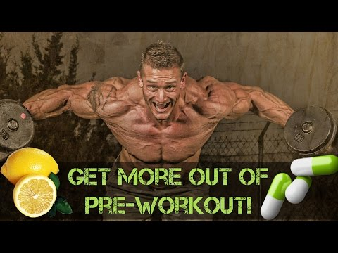 Get Better Pumps From Your Pre-Workout Instantly With This Trick