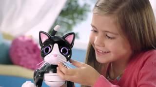 видео Интерактивная игрушка-робот Фёрби для игр и развлечений