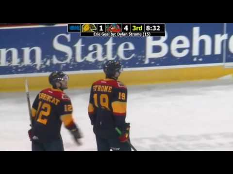 Must See: Dylan Strome scores goal with opponents stick, gives it back