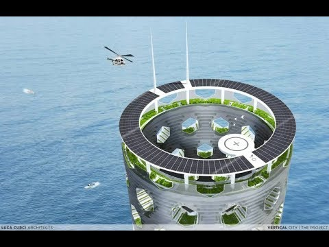 Offshore Vertical City of Zero Waste - Whoa