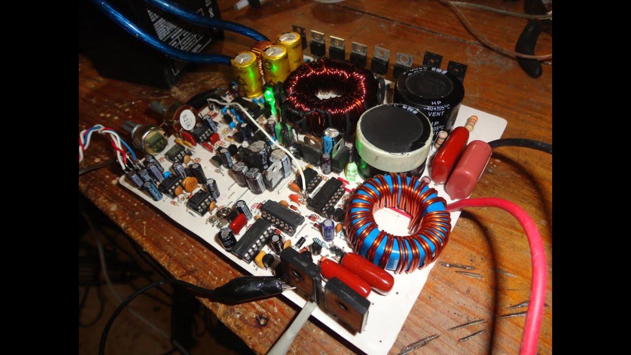 amplificador clase c# pdf