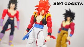 Dragon Ball Super Dragon Stars Series Super Saiyan 4 Gogeta Figure Review Youtube