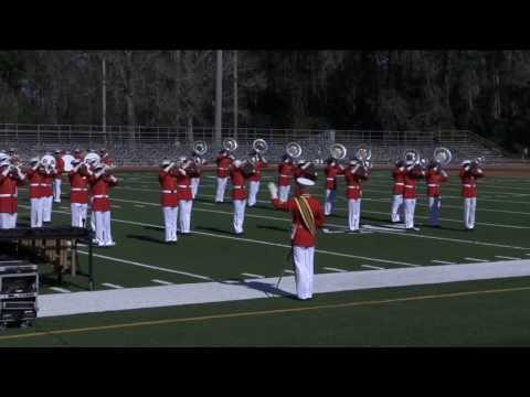 United States Marine Corps Battle Color Ceremony