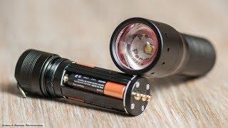 LED LENSER P7 - хороший фонарик для людей далеких от хитрых технологий