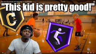 TJASS VS 2-WAY PLAYMAKER! | This Kid CALLED ME OUT! INTENSE 1v1 Basketball!