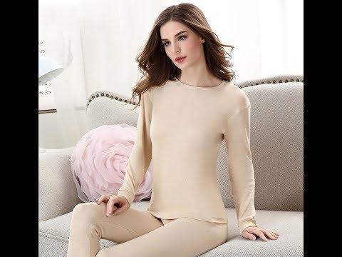 Пижама женская теплая эластичная