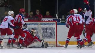 Averin scores a beauty after great Loktionov's pass