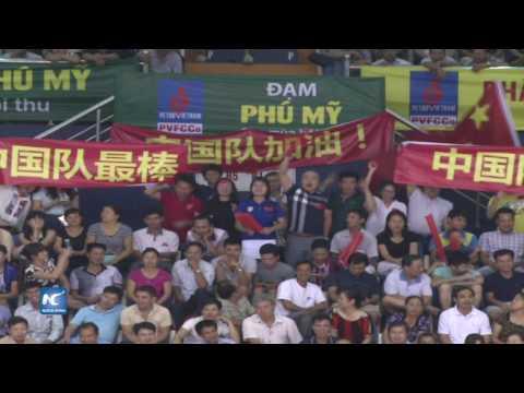 Gana China Copa Femenil de Voleibol de Asia