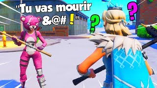 I dared to join this psychopath at midnight and here's what happened! Fortnite Battle Royale