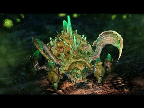 Roach Evolution: Corpser and Vile Starcraft 2: Heart of the Swarm