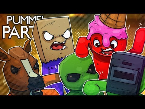 HILARIOUS 8 PLAYER PUMMEL PARTY MADNESS!