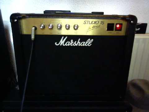 "Marshall 4001 Studio 15 ""Little Fatty"" (w/ Celestion Gold 10'')"