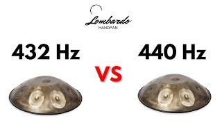HANDPAN: 432 Hertz VS 440 Hertz - (ITA - ENG) LOMBARDO handpan