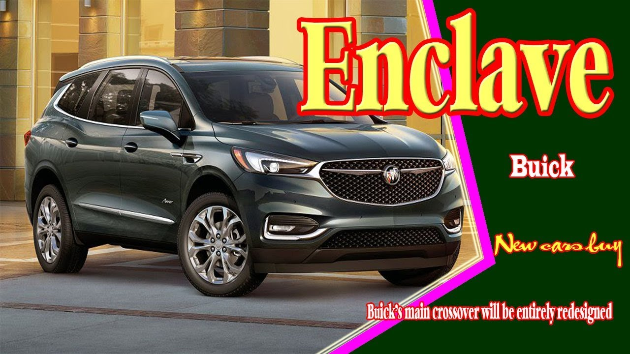 2020 Buick Enclave 2020 Buick Enclave Avenir 2020 Buick Enclave