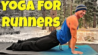 Beginner Yoga for Runners - 10 Best Post Run Stretches #RunnersYoga #yogaforrunners