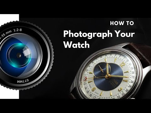 How To Photograph Jewelry And Watches