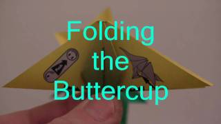 Skill: Medium - Folding The Buttercup Flower