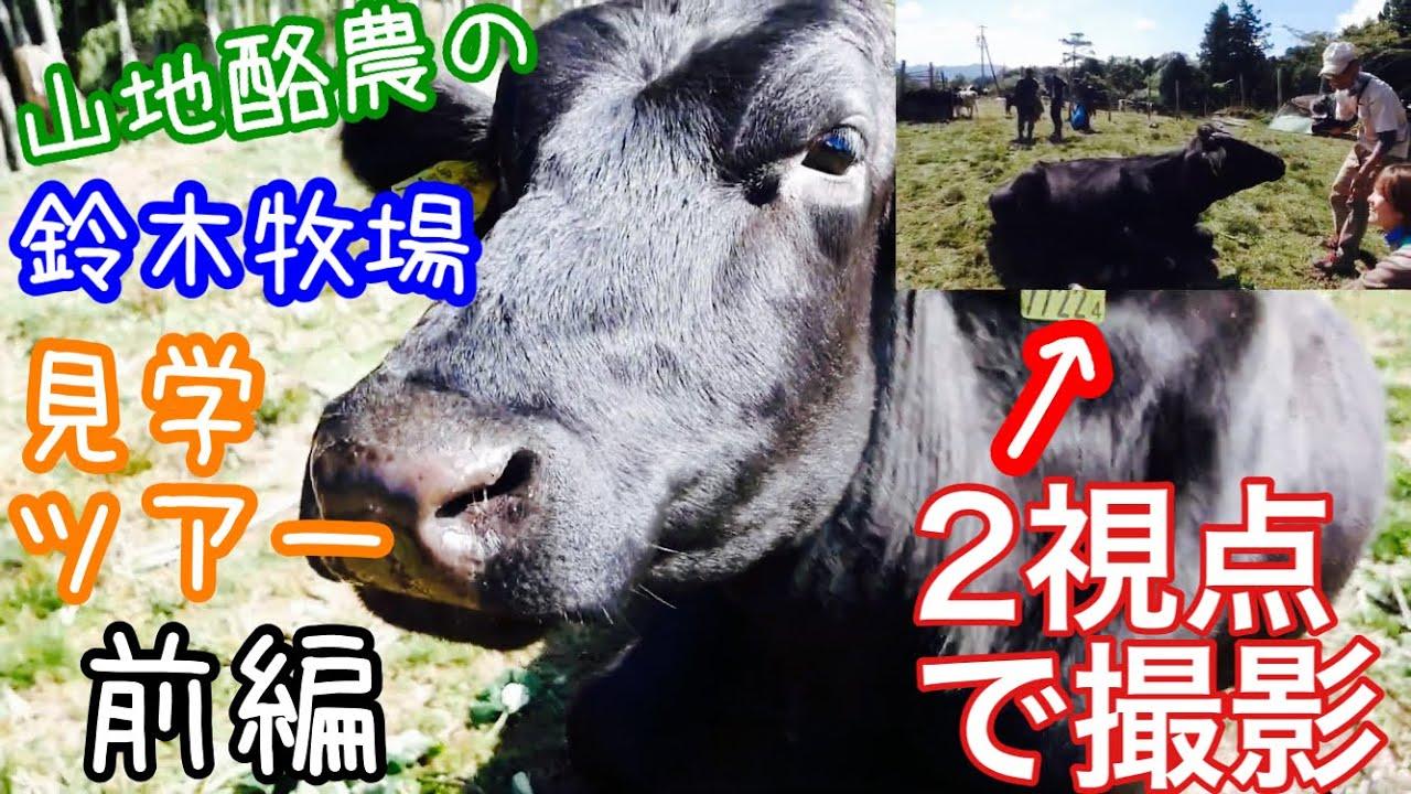 山地酪農の鈴木牧場見学ツアー《前編》2020年10月26日