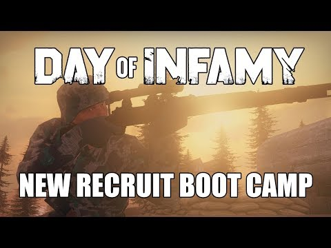 New Recruit Basic Training - Day of Infamy Weekly Live Stream 10/19/17