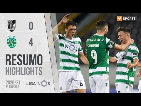Guimaraes Sporting Lisbon Goals And Highlights