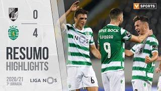 Highlights   Resumo: Vitória SC 0-4 Sporting (Liga 20/21 #7)