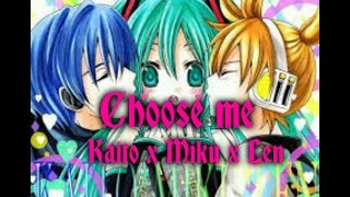 Gambar cover Choose me len×miku×kaito