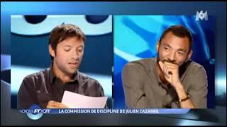 100% Foot - M6 - La commission de discipline - Julien Cazarre - Edouard Cissé.