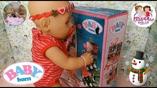 Baby Born Doll Videos| Opening Baby Born Advent Calendar Day 18 Surprise With Elly🎄Build A ☃️🧤🎁