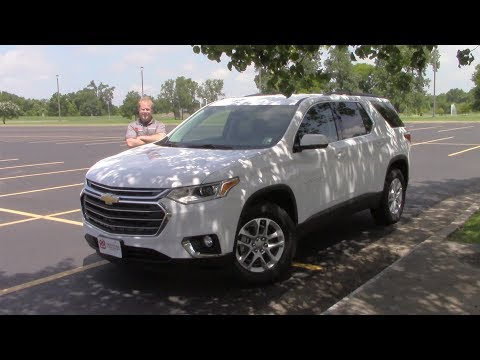 2019 Chevy Traverse LT1 Review And Test Drive