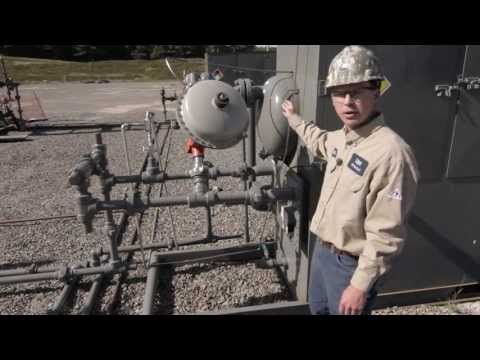 Natural Gas Well Pad Tour